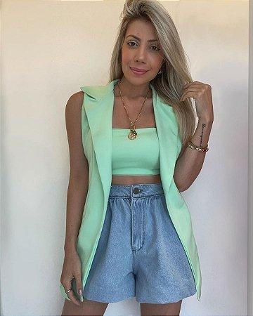 Shorts Jeans Balonê Isa Baldo