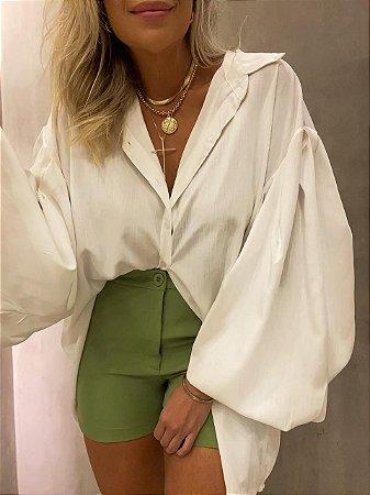 Shorts Alfaiataria Isa Baldo Verde