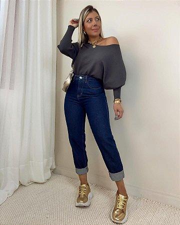 Calça Jeans Americana Isa Baldo