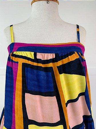 Vestido Curto Isa Baldo Colors