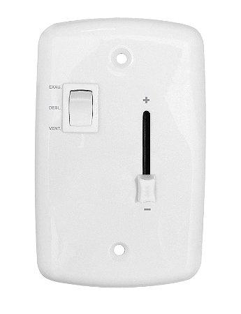 Controle de Velocidade CR Deslizante Bivolt - Cod.169