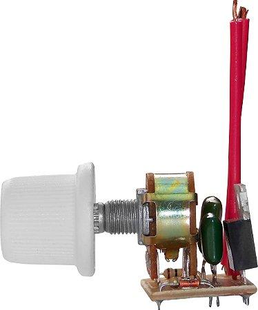 Dimmer Rotativo Bivolt com OFF Bloco - Cod.30 400W -  Cod.402 1000W