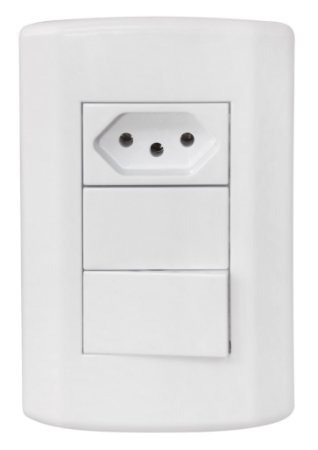 Chave Modular Tomada / Interruptor Plus - Cod.2676