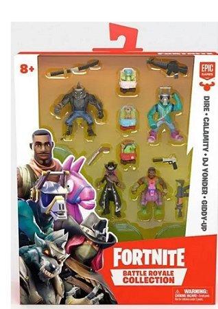 Fortnite 4 Mini Figuras Com Acessorios- Fun