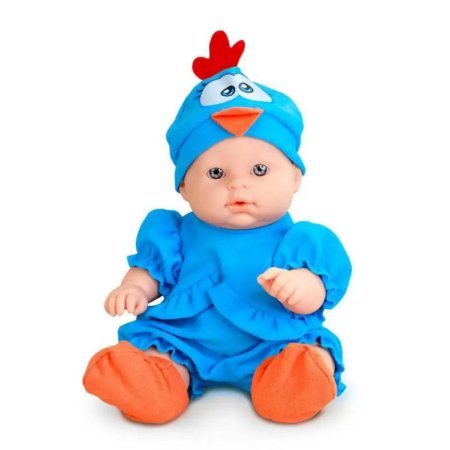 Boneca Mini Galinha Pintadinha Baby - Roma