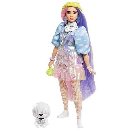 Barbie Extra Cabelos Coloridos - Boss - Mattel