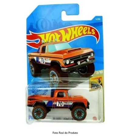 Carrinho Hot Wheels 70 Dodge Power Wagon - Mattel
