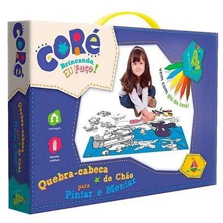 Quebra-Cabaça De Chão Para Pintar-Toyster