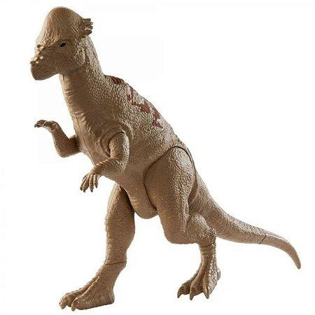 Dinossauro Pachycephalosaurus - Jurassic World Rivals - Mattel