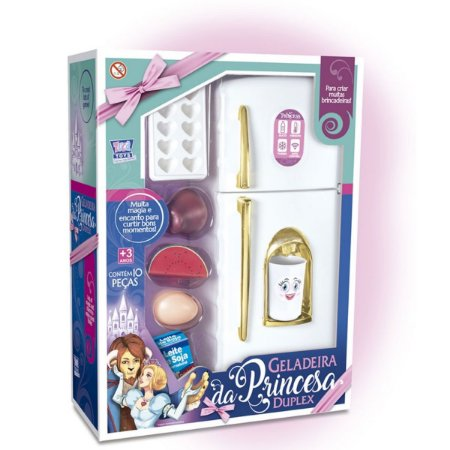 Geladeira Da Princesa Duplex - Zuca Toys