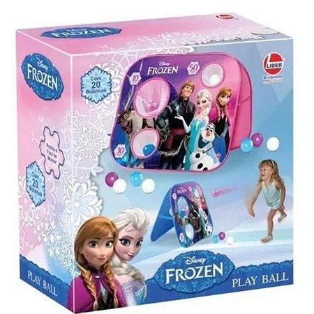 Brinquedo Play Ball Com 20 Bolinhas Disney Frozen-Lider