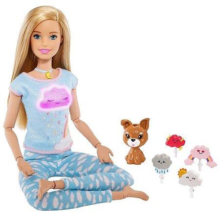 Boneca Com Animais De Estimação Barbie Medita Co