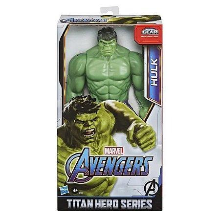 Boneco Vingadores Titan Hero Deluxe Hulk