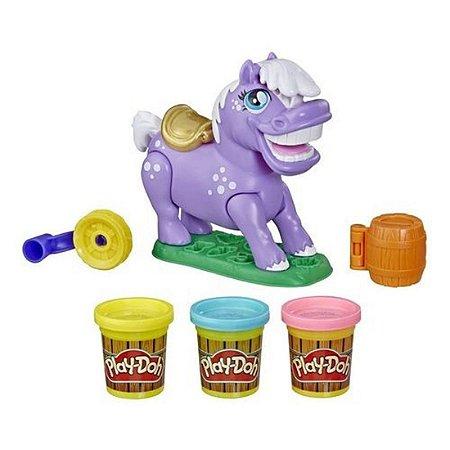 Brinquedo Massinha Play Doh Farm Pônei