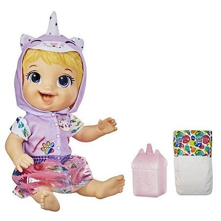 Boneca Baby Alive Tinycor Bebê Minicórnio