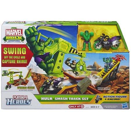Conjunto Mvl Superhero Pista Hulk
