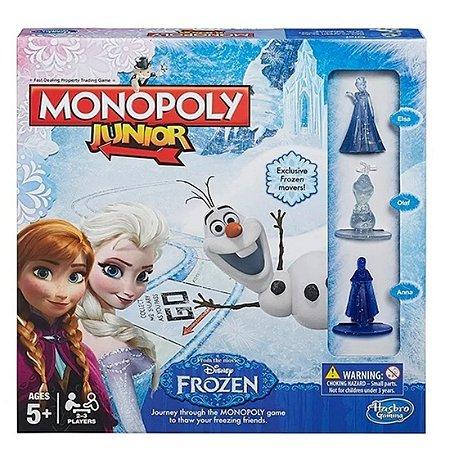 Jogo Monopoly Junior Frozen