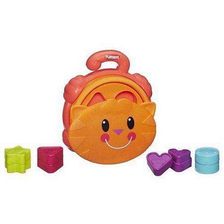 Brinquedo Playskool Gatinho Com Formas