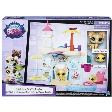 Festa No Parque Aquatico Littlest Pet Shop