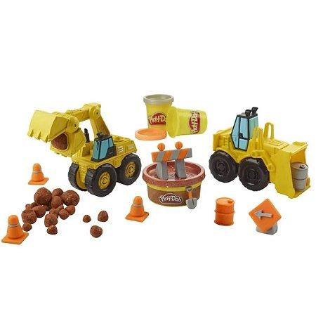 Conjuto Pd Wheels Escavadeira E Carregadeira