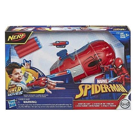 Lançador Power Moves Homem Aranha