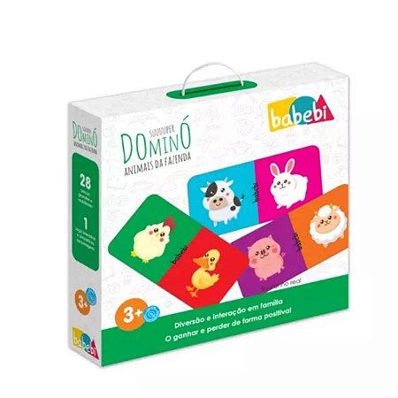 Super Domino Animais Da Fazenda