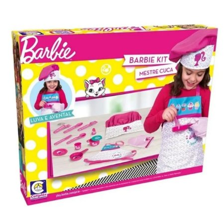 Barbie Cheff Mestre Cuca Avental