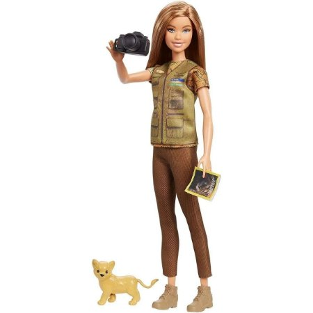 Boneca (o)barbie Nat Geo Basico