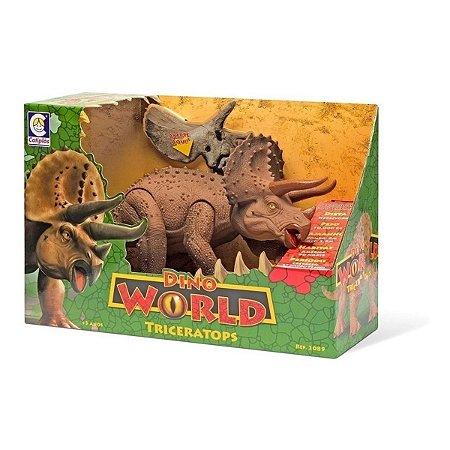 Dino World Triceratops