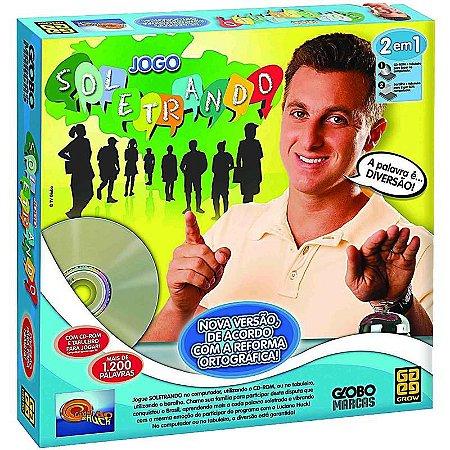 Jogo Soletrando com CD Rom - Nova Ortografia - Grow