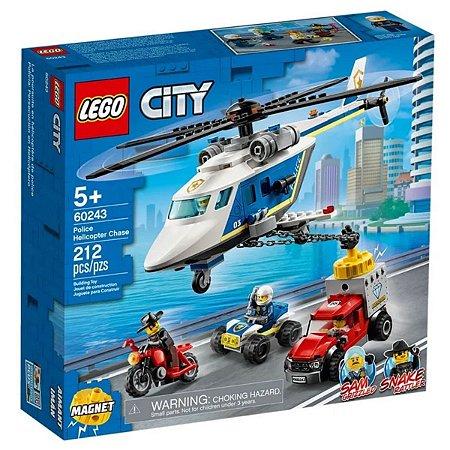 Perseguição Policial De Helicóptero