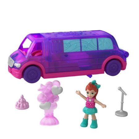 Polly Pocket Pollyville A Limousine De Festa - Mattel