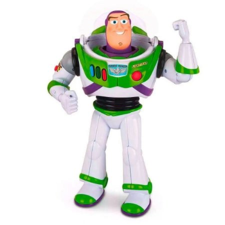 Boneco Buzz Ligthyear Toy Story Disney