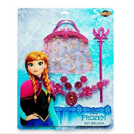 Jogo De Beleza Com Bolsa Frozen