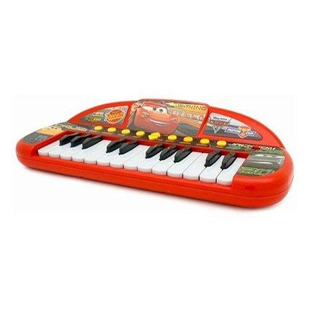 Teclado Musical Infantil Carros