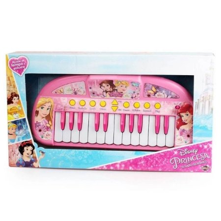 Teclado Musical Infantil Princesas