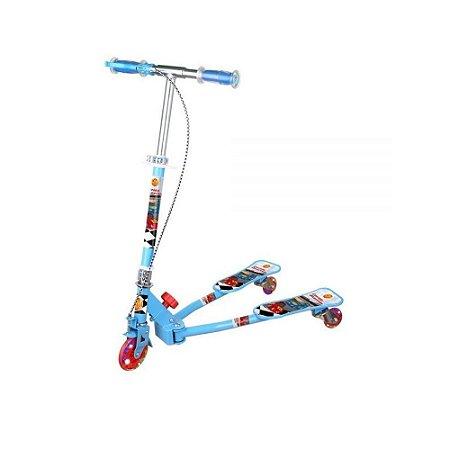 Patinete Radical Frog Azul - Dm Toys