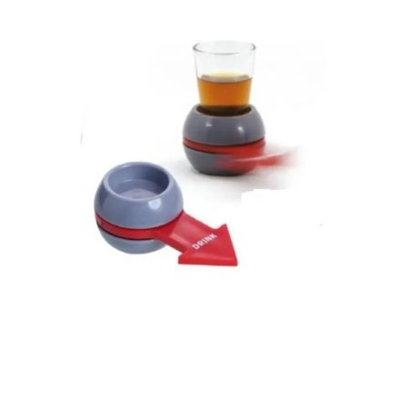 Shot Spinner Roleta De Drinks Jogo Bar Rodada Bebida Barman