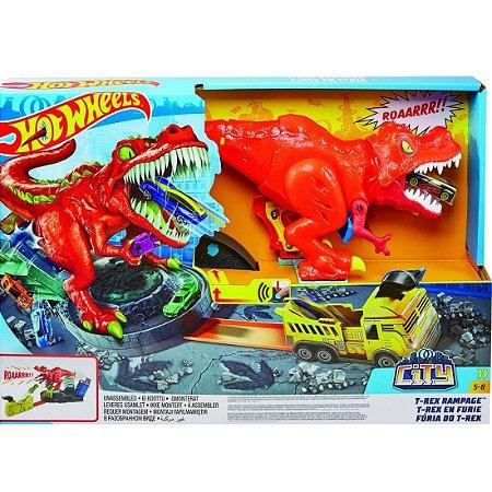 Hot Wheels - City T-Rex Demolidor