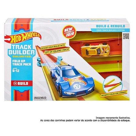 Hot Wheels Track Builder Conjunto De Pista Dobrável