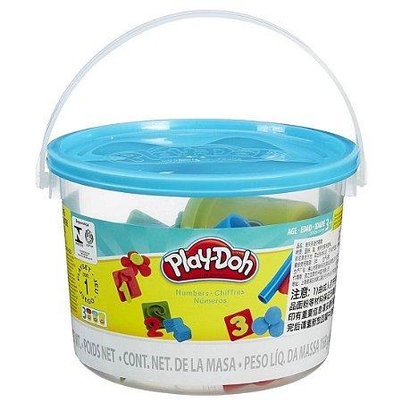 Play Doh Mini Balde Números 23326 - Hasbro