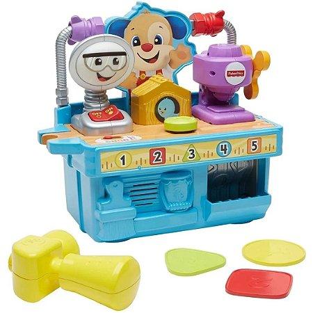 Fisher Price Caixa De Ferramentas Do Cachorrinho GFX37 - Mattel