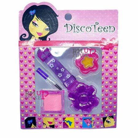 Estojo de Maquiagem Infantil Disco Teen