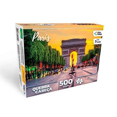 Quebra-Cabeça Paris 500 peças