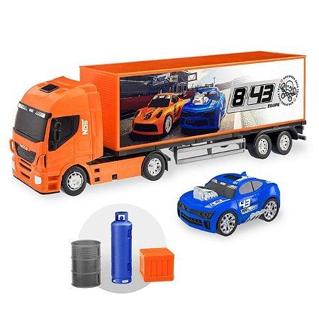 Caminhão Baú Nos Speed Race Team