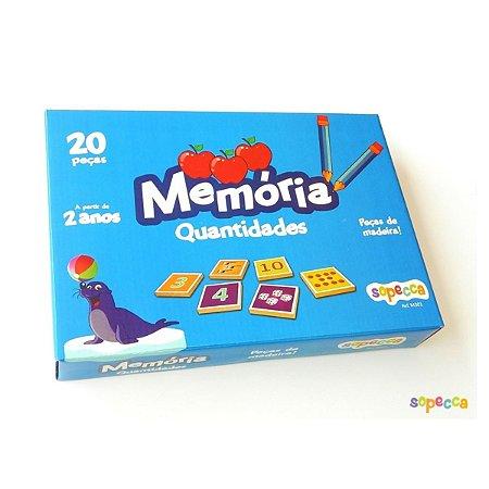 Jogo da Memória Quantidades
