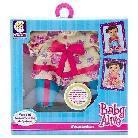 Roupinha Baby Alive Calça Batinha