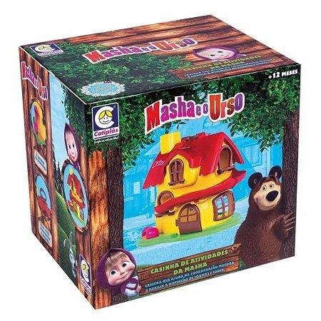 Casinha de Atividades - Masha e o Urso