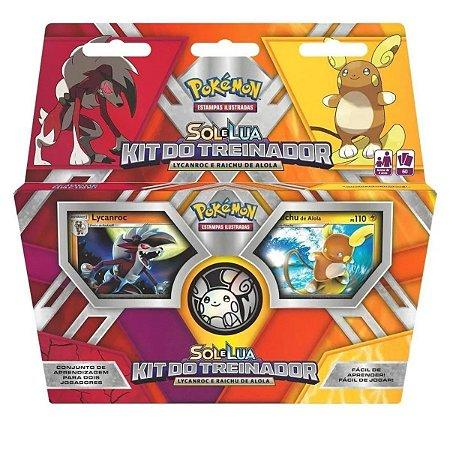 Kit Do Treinador Pokémon Sol E Lua
