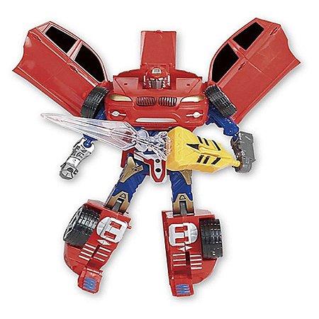 Robot Warriors Com Luz e Som - Vermelho